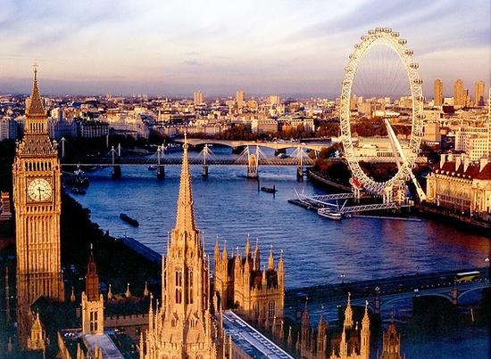 центр лондона достопримечательности