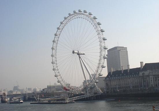 Лондонский глаз london eye