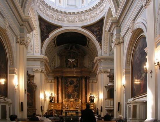 Монастырь Энкарнасьон внутри
