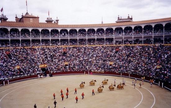 серия самых главных боев быков в мире - Feria de San Isidro