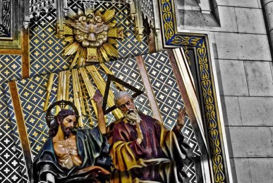 фреска собора Альмудена