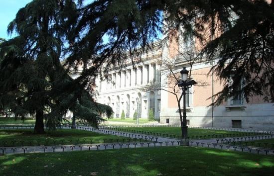 Музей Прадо снаружи