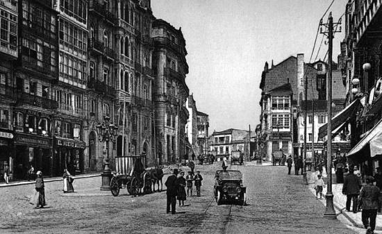 Площадь Пуэрта-дель-Соль исторический вид