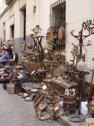 антиквариат на рынке Растро