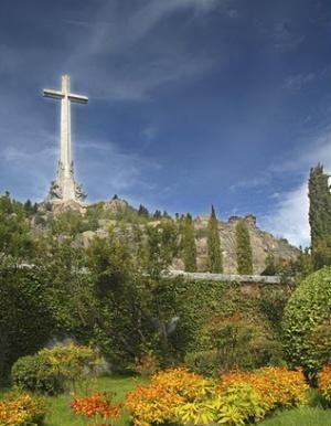 крест возле монастыря Эскориал