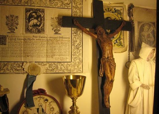 внутри Картезианского монастыря