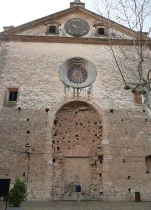 Картезианский монастырь вид сбоку