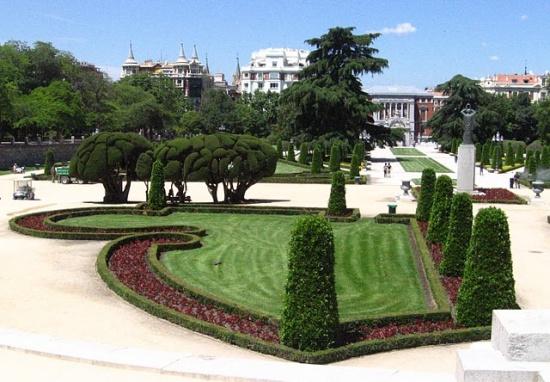 композиции в Мадридском Ботаническом саду