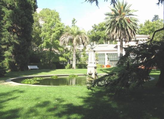 пруд в Мадридском Ботаническом саду