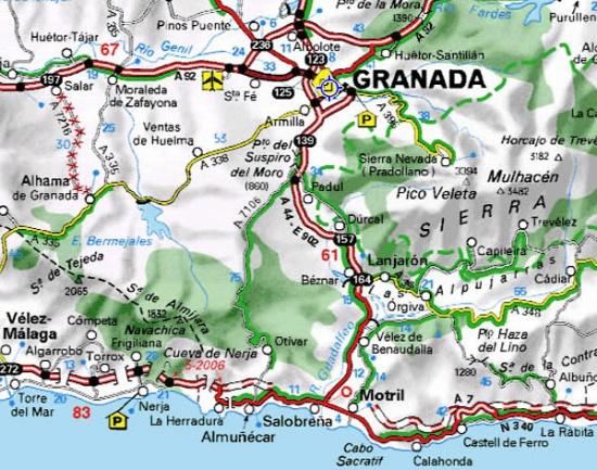 карта Коста Тропикаль