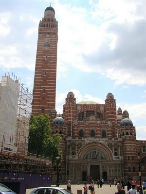 башня Вестминстерского Кафедрального собора