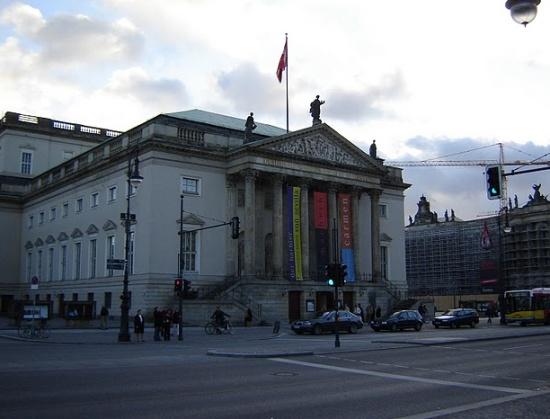 фасад Берлинской государственной оперы