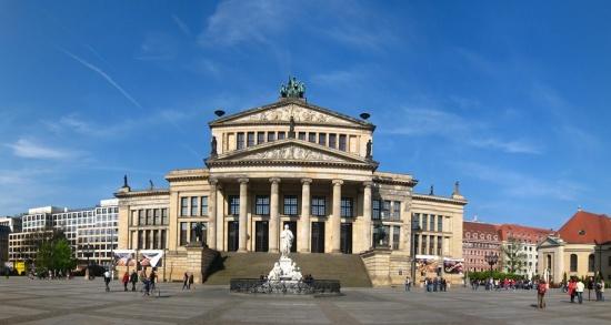 панорама Старой библиотеке в Берлине