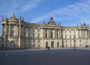 Старая библиотека в Берлине
