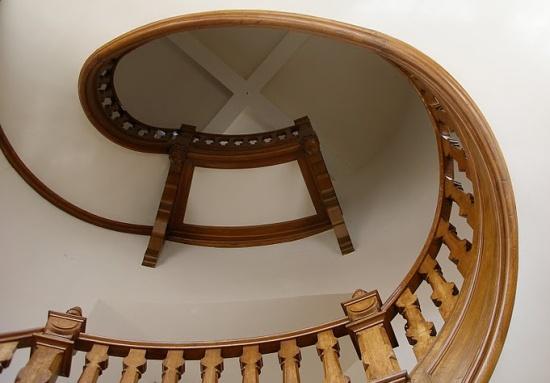 лестница внутри Цейхгауз