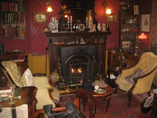 Дом Шерлока Холмса в Лондоне