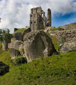 фото старого замка Корфе