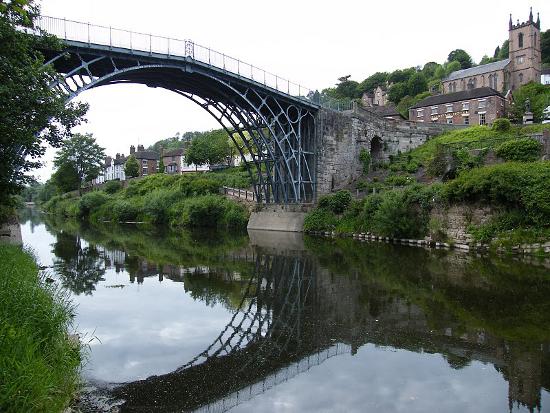 Чугунный мост фото