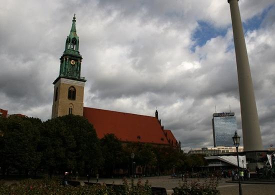 Мариенкирхе в Берлине