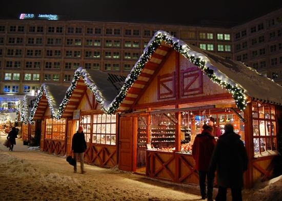 Александерплац зимой
