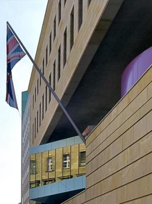 Английское посольство на улице Вильгельмштрассе