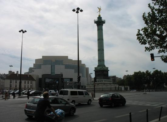 площадь и опера Бастилии