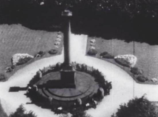 Колонна Победы в начале 20-го века