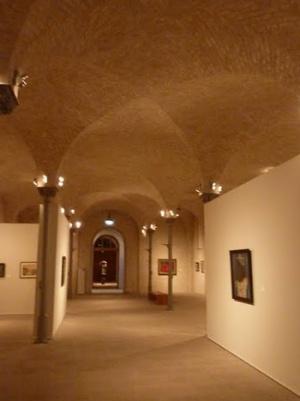 внутри Берлинской картинной галереи