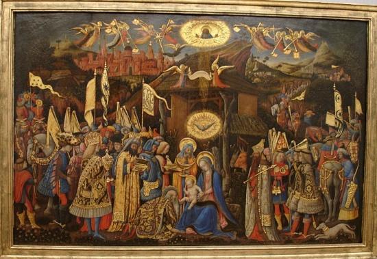 Антонио Виварини, Поклонение королей - Берлинская картинная галерея