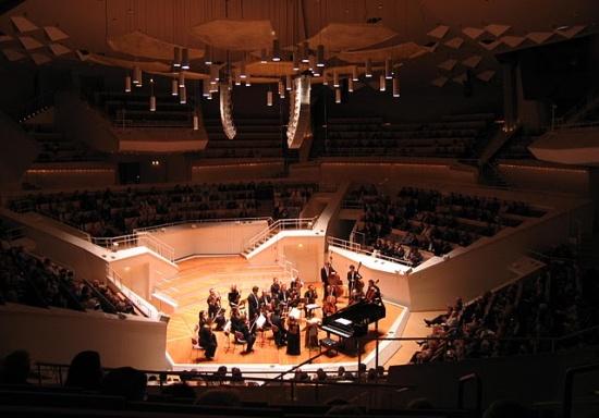 концерт в Берлинской филармонии