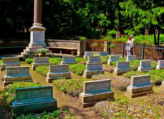 кладбище дворца Тегель