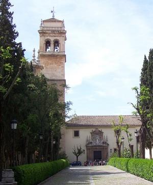 башня Монастыря святого Иеронима в Гранаде