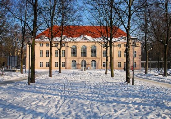 Дворец Шёнхаузен в Берлине