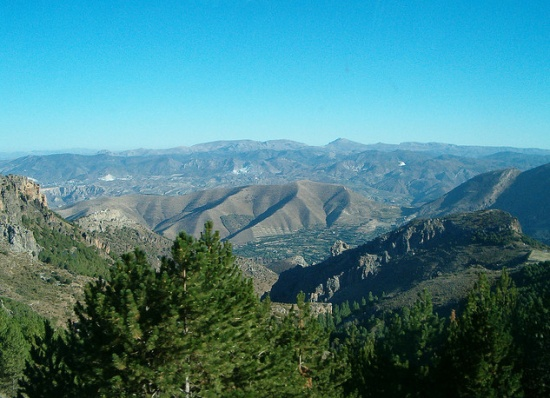 Национальный парк Сьерра-Невада в Испании