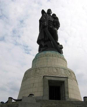 Трептов парк Воин освободитель