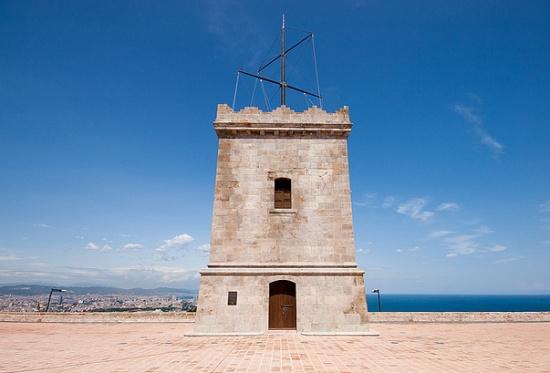Башня Замка Монжуик