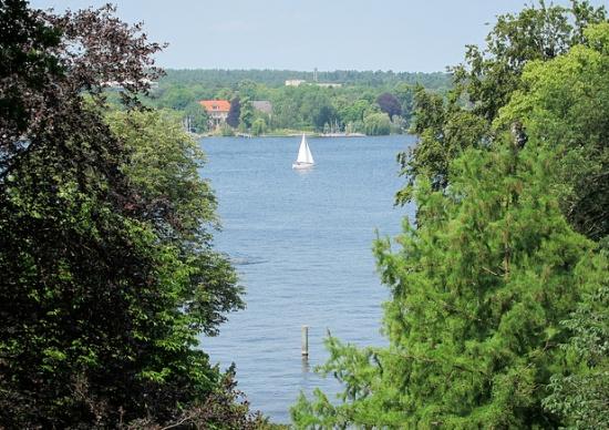 Озеро Ванзее в Берлине