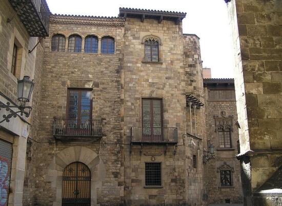Испания Готический квартал