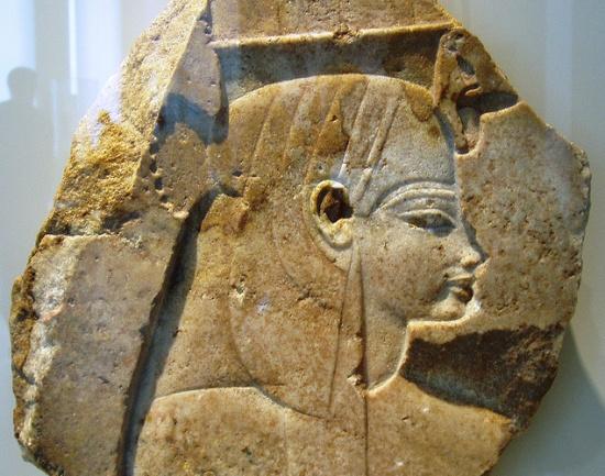 экспонат Египетского музея в Берлине