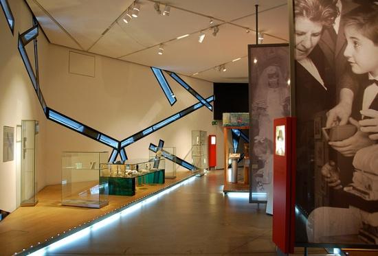 экспозиция Еврейского музея в Берлине