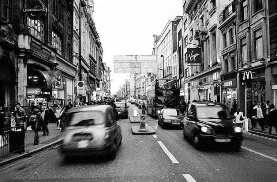 Оксфорд-стрит в Лондоне