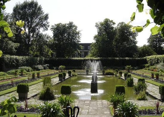 парк Кенсингтонского дворца