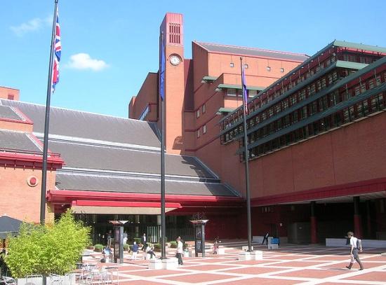 Британская библиотека в Лондоне