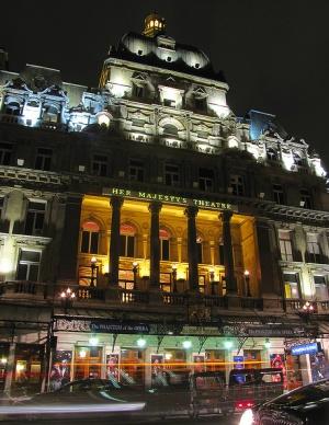 фасад Театр Её Величества