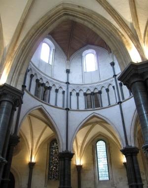 своды в Церкви Темпла