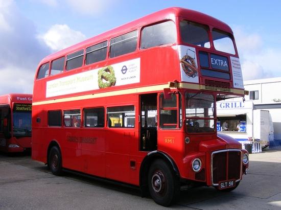 экспонат Лондонского музея транспорта