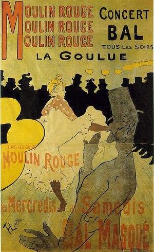 Анри де Тулуз-Лотрек плакат