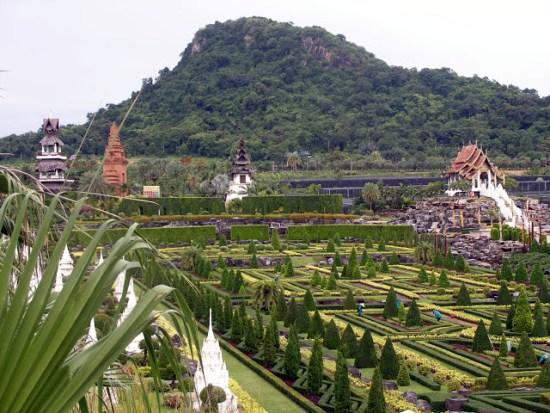 Ландшафтный дизайн парка Нонг Нуч