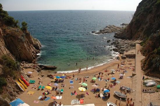Пляжи Тосса-де-Мар