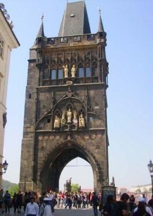 Карлов мост, вид с моста